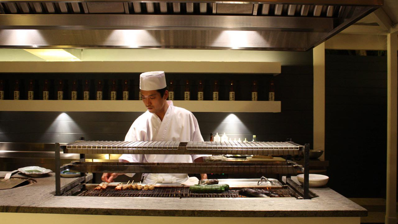 ristorante giapponese sorrento