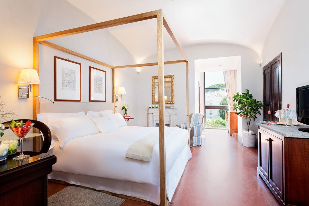 deluxe 5 stars room amalfi coast