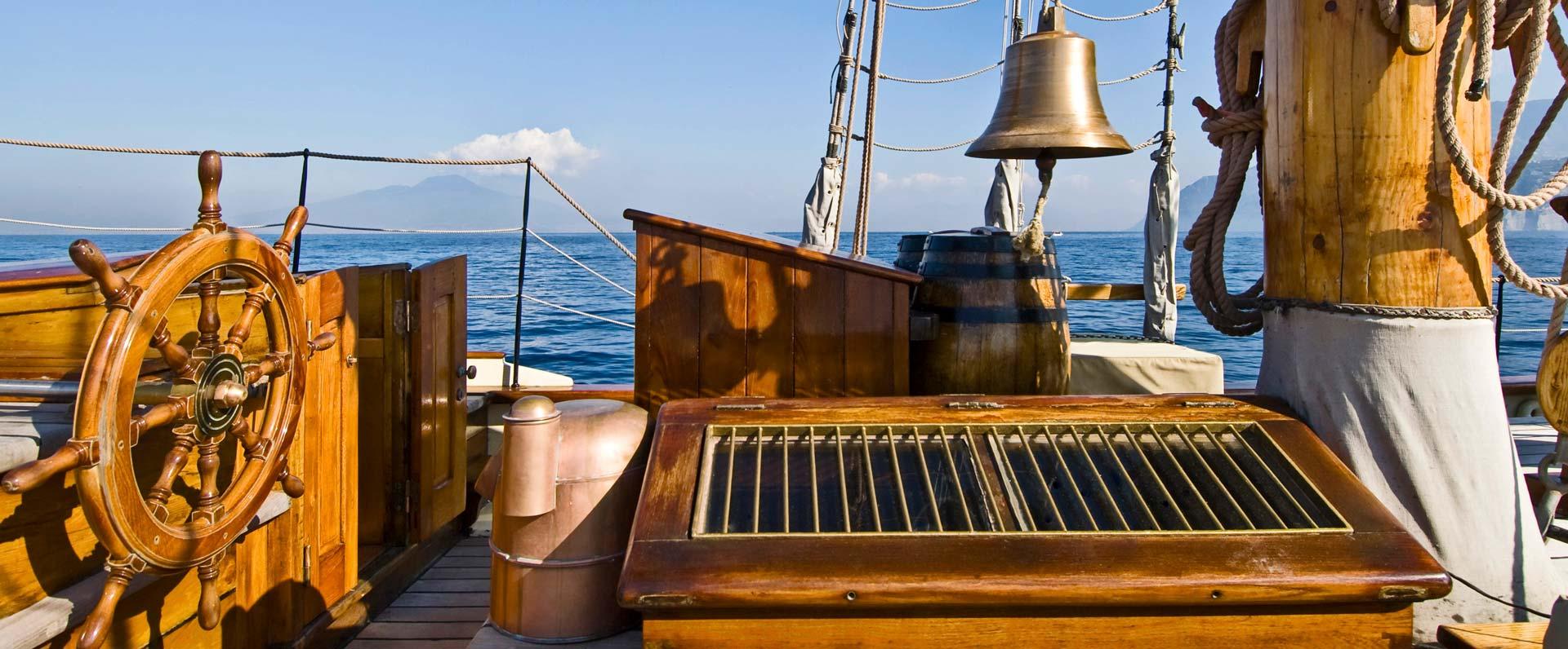 ketch vera antica imbarcazione